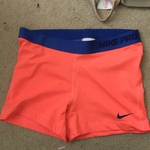 Tangerine Nike Pros
